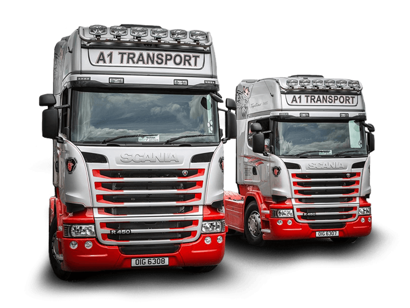 Fleet - A1 Transport Company Road Haulage Services UK